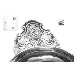 Zilveren brandewijnkom 1868