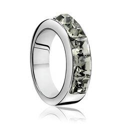 Zilveren Zinzi ring grijs Zirkonia Zir631