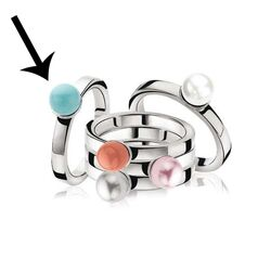 Zinzi Ring Turkoois Zir579t