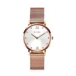 Zinzi Lady Crystal horloge rosé ZIW631
