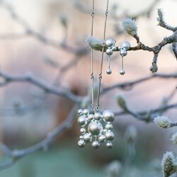 660870 Lapponia zilver collier winterpearl