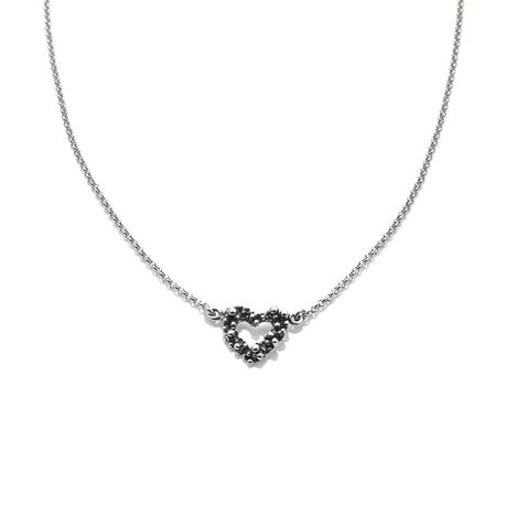 Giovanni Raspini heart mini swing collier