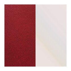 Les Georgettes oorbel inlay's 43 mm beige rood