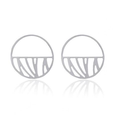 Les Georgettes Perroquet oorbellen 43 mm