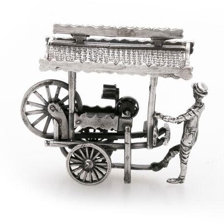 Scharensliep miniatuur zilver