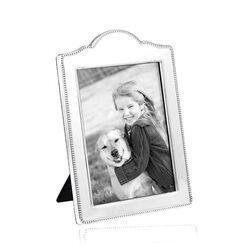 Zilveren fotolijst met parelrand van Carrs