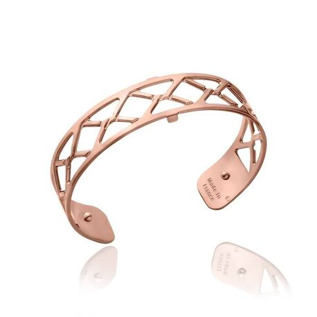 Les Georgettes 14 mm stalen armband Cannage