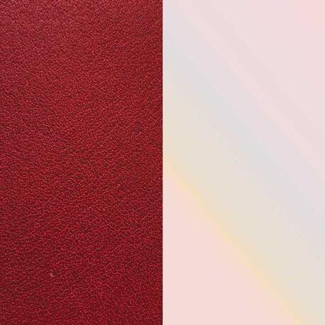 Les Georgettes 25 mm inlay rood en beige