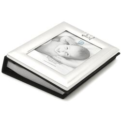 Baby fotoalbum kroon Zilverstad 8106261