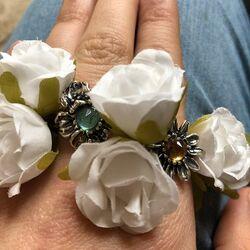 Raspini Ring Blauw Zirkonia In Orchidee