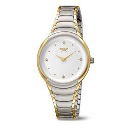Boccia Titanium bicolor horloge rond 3276-10