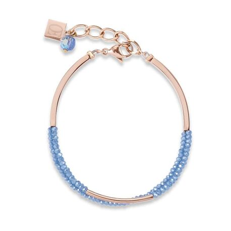 Coeur de Lion armband waterval blauw