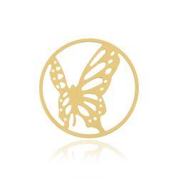 MY iMenso vergulde cover vlinder 33-0694