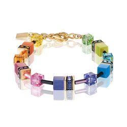 Coeur de Lion vergulde armband Rainbow Gold