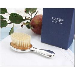 Zilver borsteltje voor baby van Carrs