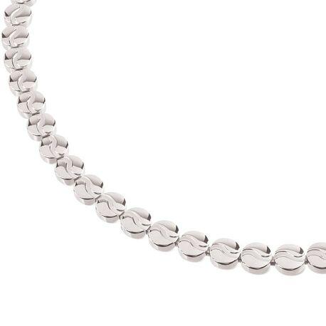 Boccia Titanium glanzend collier 05031-04