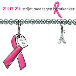 Zinzi bedel roze strik voor Pink Ribbon Ch19p