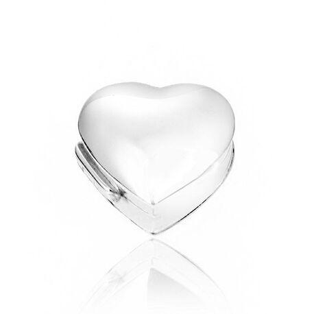 Zilveren doosje hart