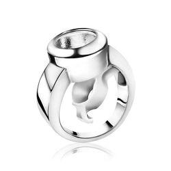 Zinzi zilveren wisselring ZIR4
