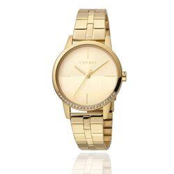 Esprit Yen stalen horloge verguld