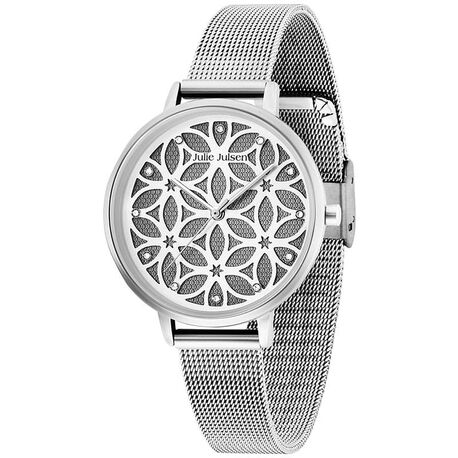 Julie Julsen horloge Levensbomen zilver