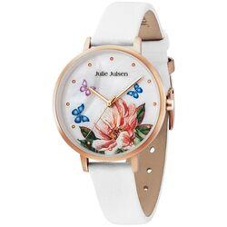 Julie Julsen rosé horloge lotus bloem