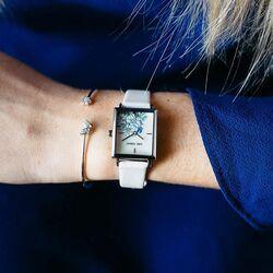 Julie Julsen vierkant horloge mint