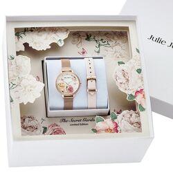 Julie Julsen rosé horloge Secret Garden