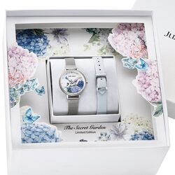 Julie Julsen stalen horloge Secret Garden