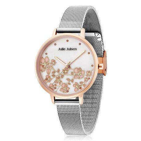 Julie Julsen bicolor horloge kersen bloesem
