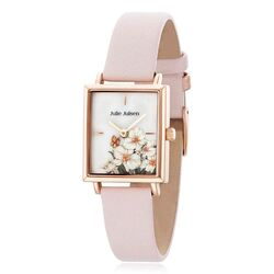 Julie Julsen rosé horloge square roze