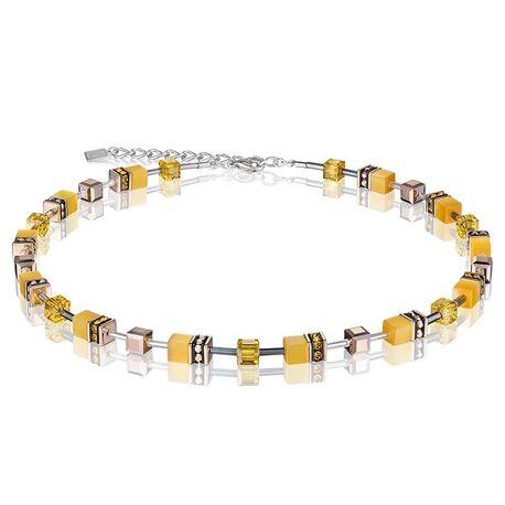 Coeur de Lion collier 4016-10-0100 GeoCUBE geel