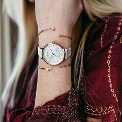 Julie Julsen Levensbloemen horloge licht roze
