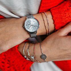 Julie Julsen stalen horloge met levensboom