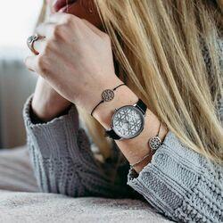Julie Julsen horloge Levensboom zwart