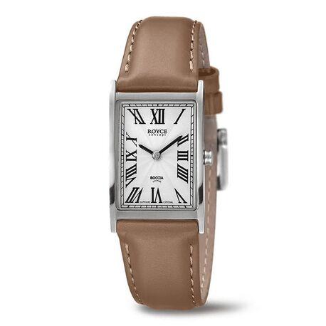 Boccia Titanium Royce horloge bruin 3286-03