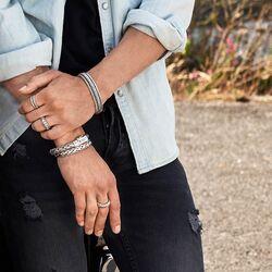 Silk Weave armband 731