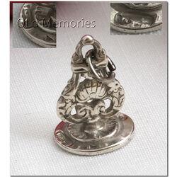 Zilveren lakstempel uit Amsterdam 18e eeuw