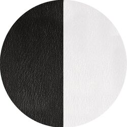 Les Georgettes 25 mm hanger inlay zwart wit