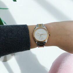Esprit bicolor horloge Slice Multi Stones