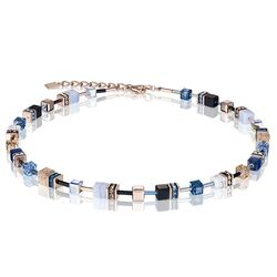 Coeur de Lion collier blauw rosé 4905-10-0710