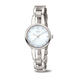 Boccia Titanium horloge parelmoer wijzerplaat