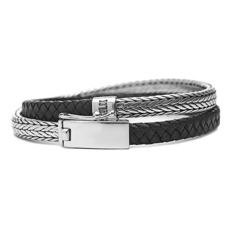 Silk Alpha armband 344BLK