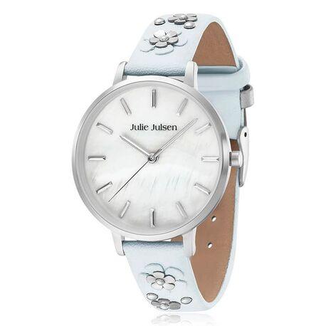 Julie Julsen stalen horloge Pearl Blossom mint