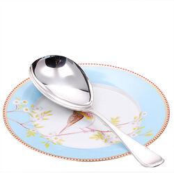 Zilveren rijstschep enkel filet model 300