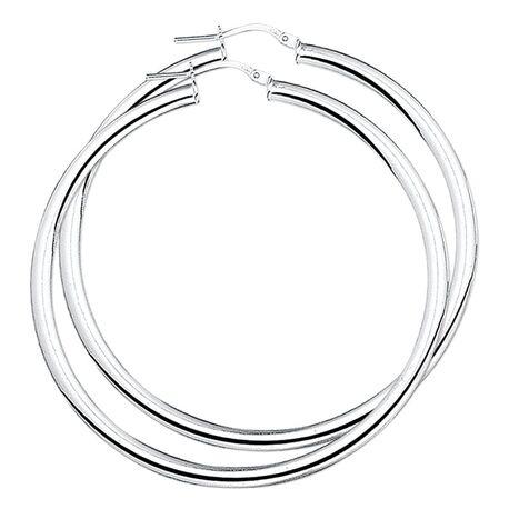 Zilveren croelen 54 mm en 4 mm dik