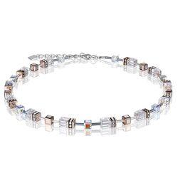 Coeur de Lion collier wit kristal 4015-10-1822