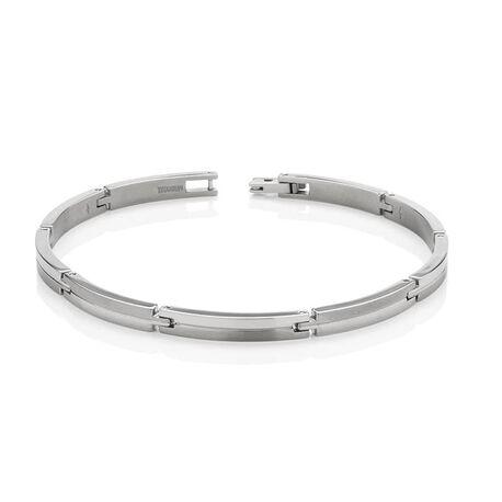 Boccia Titanium strakke armband 03018-01