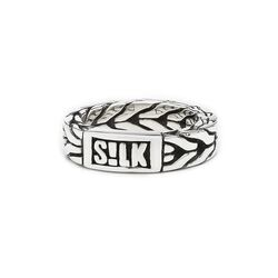 Silk Chevron ring 309