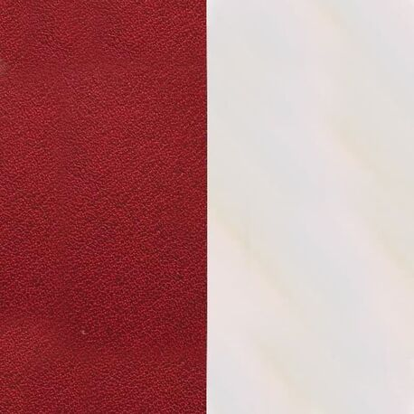 Les Georgettes 14 mm inlay rood beige